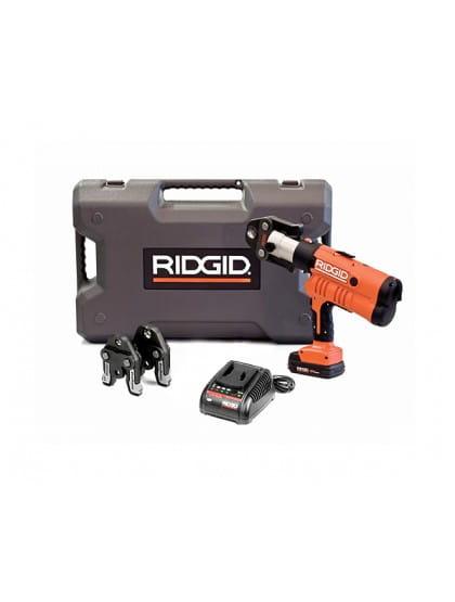 Пресс-пистолет RIDGID RP 340-B Standard  + пресс-клещи TH 16-20-26 мм, аккумулятор, зарядное устройство, кейс