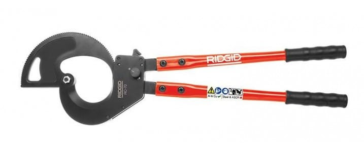 Ручные кабелерезы Ridgid