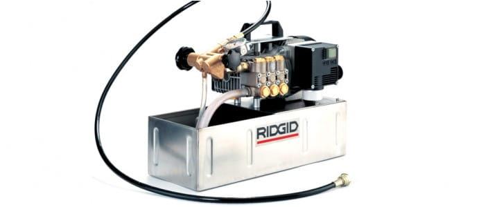 Испытательные гидропрессы Ridgid