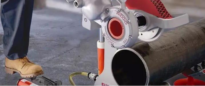 Труборезы с электроприводом Ridgid