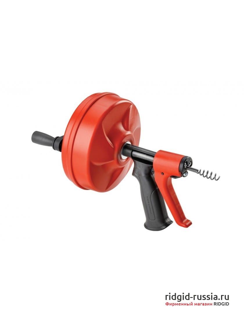 Вертушка ручная RIDGID Power Spin+ с автоподачей Autofeed