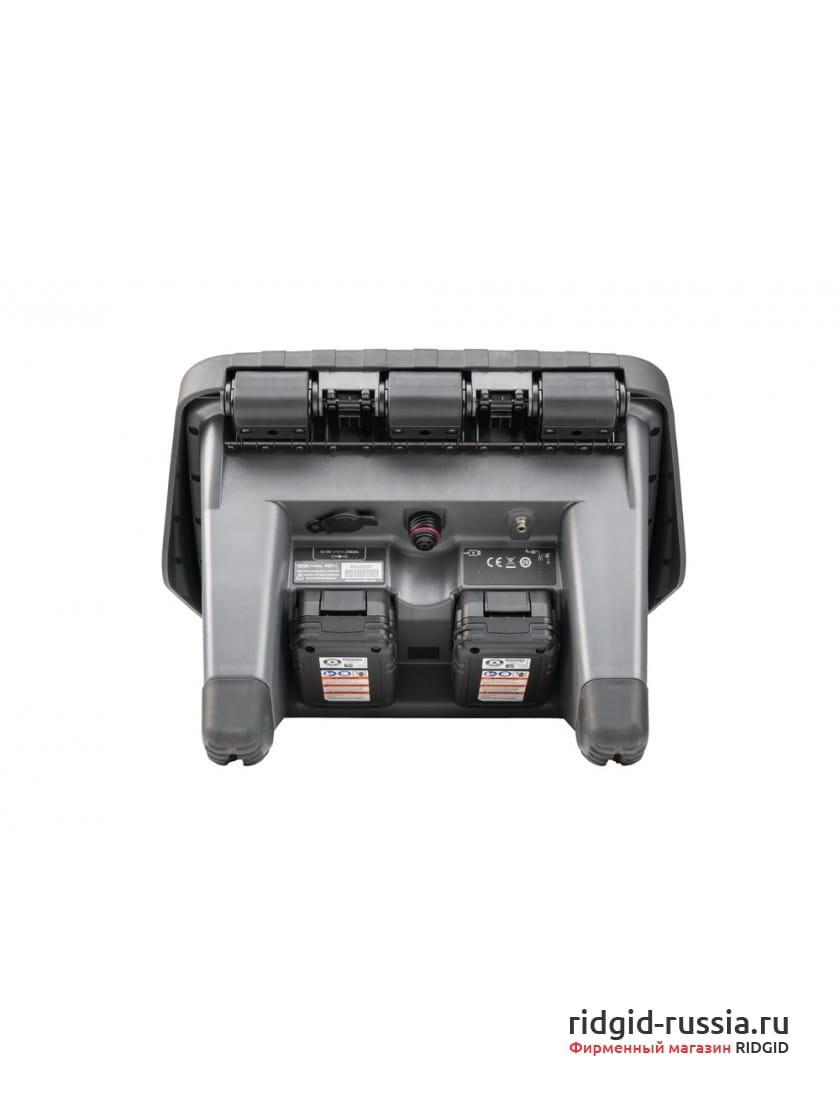Цифровой записывающий монитор RIDGID CS12x с Wi-Fi с 2 аккумуляторами и 1 зарядным устройством