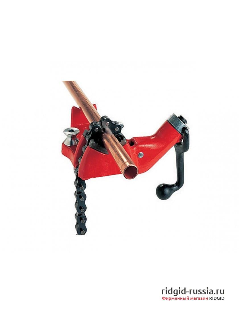 Тиски верстачные цепные с верхним винтом для труб RIDGID BC410P 1/8 - 4