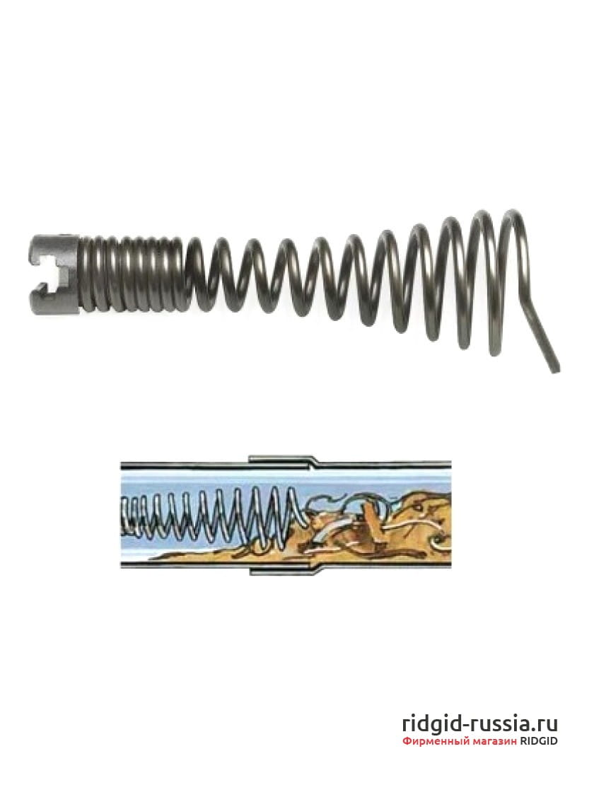 Насадка конусообразная спиральная для тяжелых работ RIDGID T-4