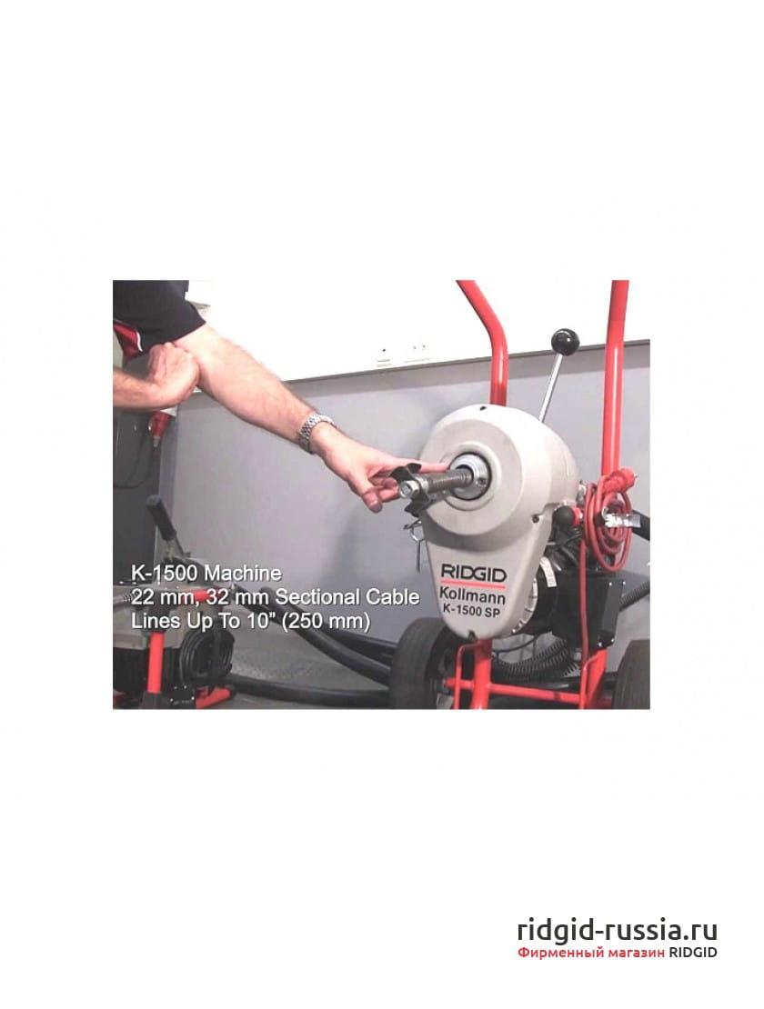 """Набор кулачков для спиралей RIDGID A-368X 7/8"""" (22 мм)"""