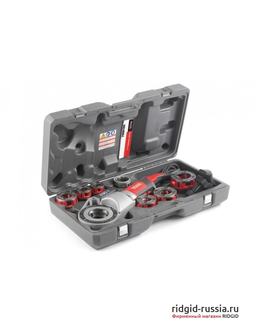 Клупп электрический резьбонарезной RIDGID 690-I 11-R 1/2-2 BSPT