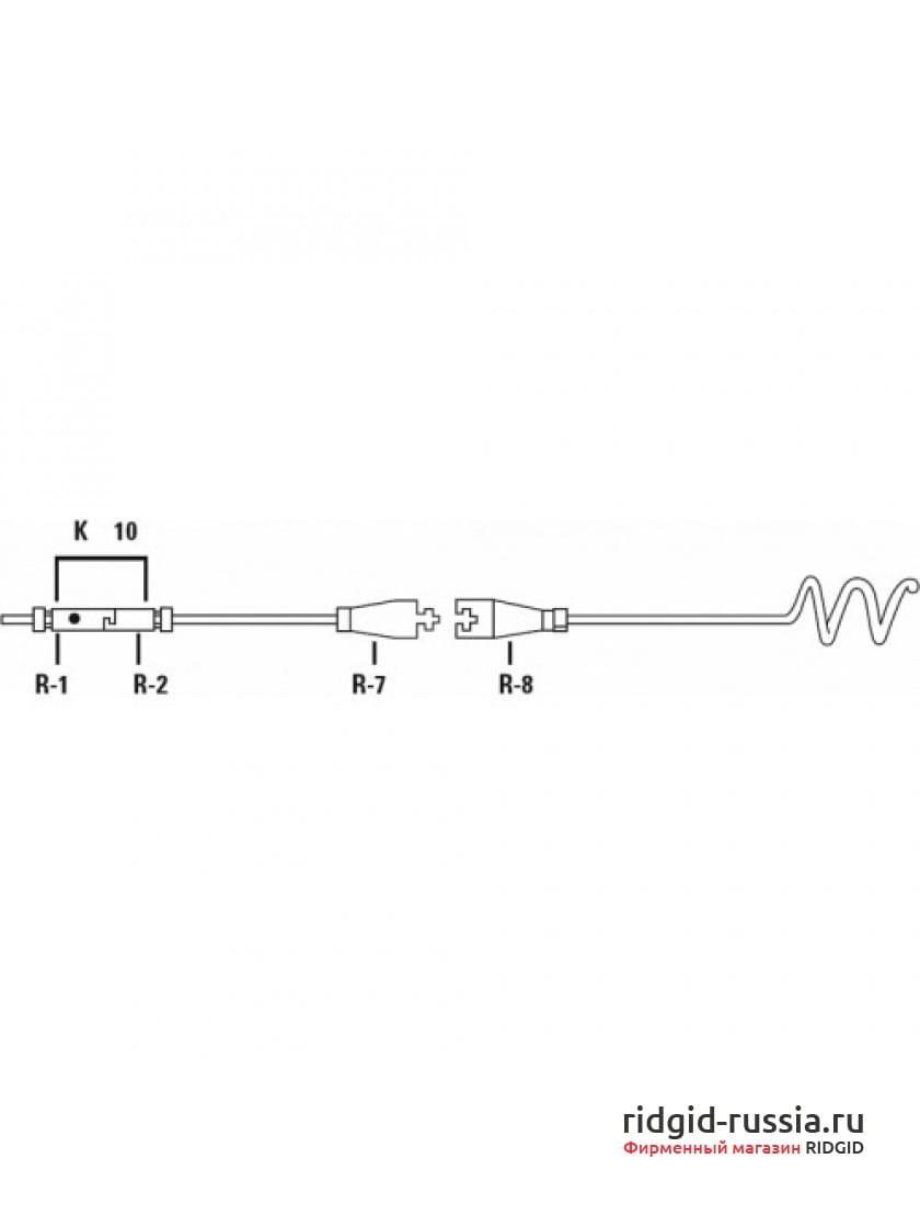 Стержень секционный со сцепками типа R-1 «папа» и R-2 «мама» RIDGID A-2475 1,5 м