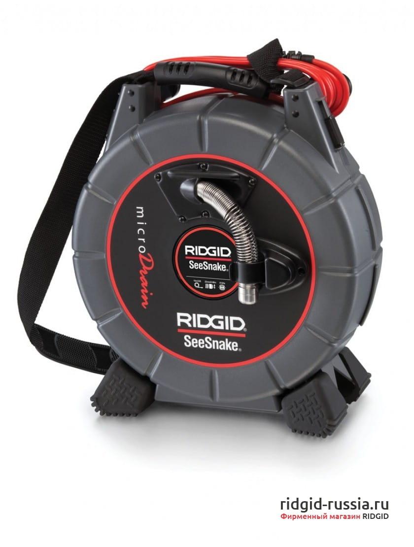 Система видеодиагностики RIDGID SeeSnake microDrain D65S с камерой CA-300 (PAL)