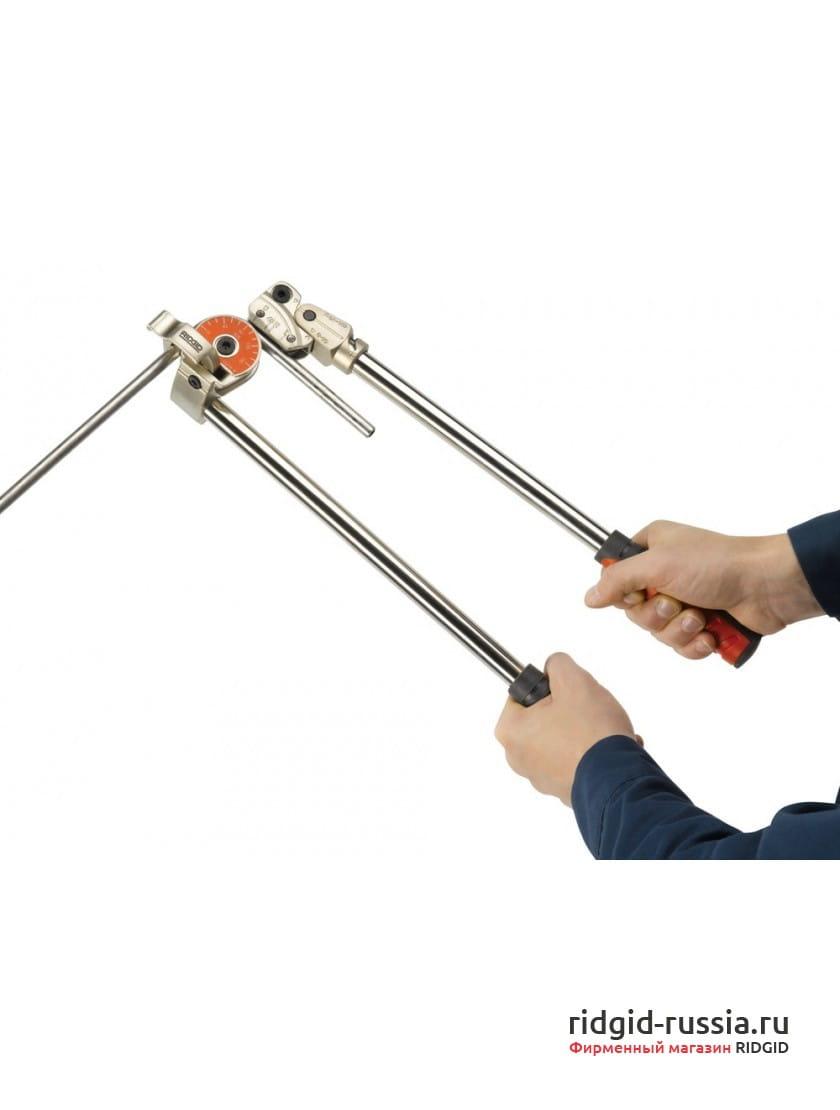 Инструментальный трубогиб для тяжелых работRIDGID 605/608M