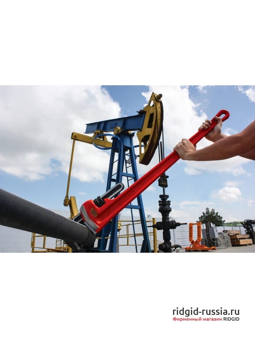 Ключ прямой трубный для тяжелых работ RIDGID 36