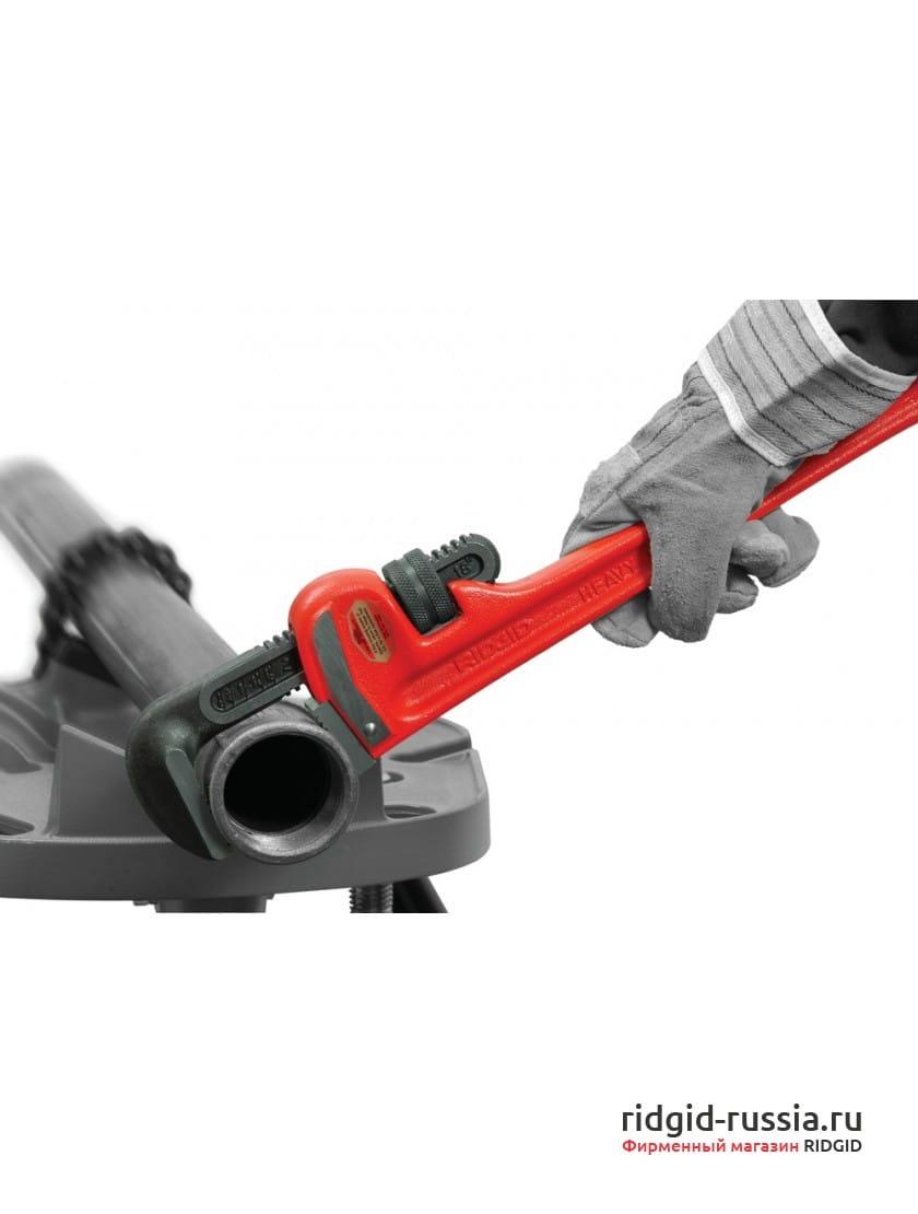 Ключ прямой трубный для тяжелых работ RIDGID 10