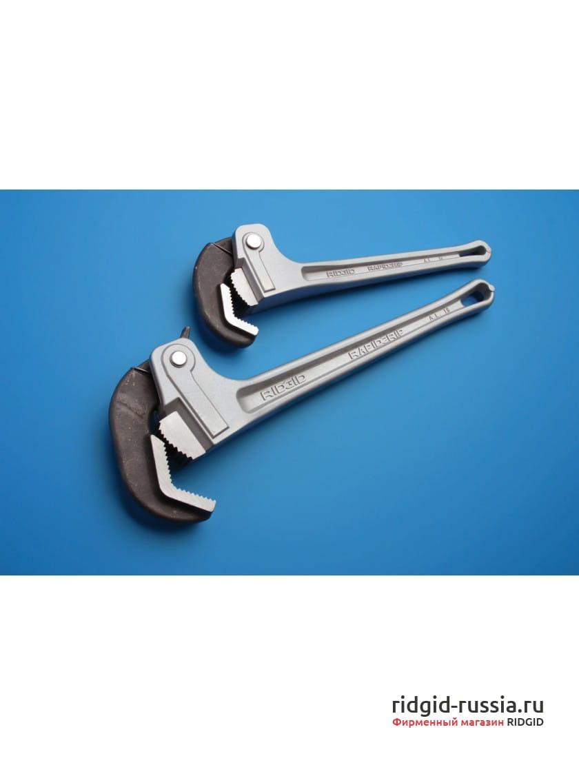 Ключ трубный алюминиевый RIDGID RapidGrip 14