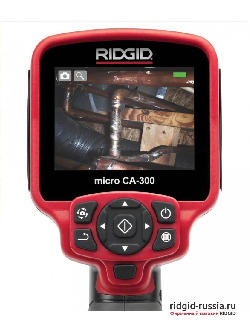 Камера для видеодиагностики RIDGID micro CA-330