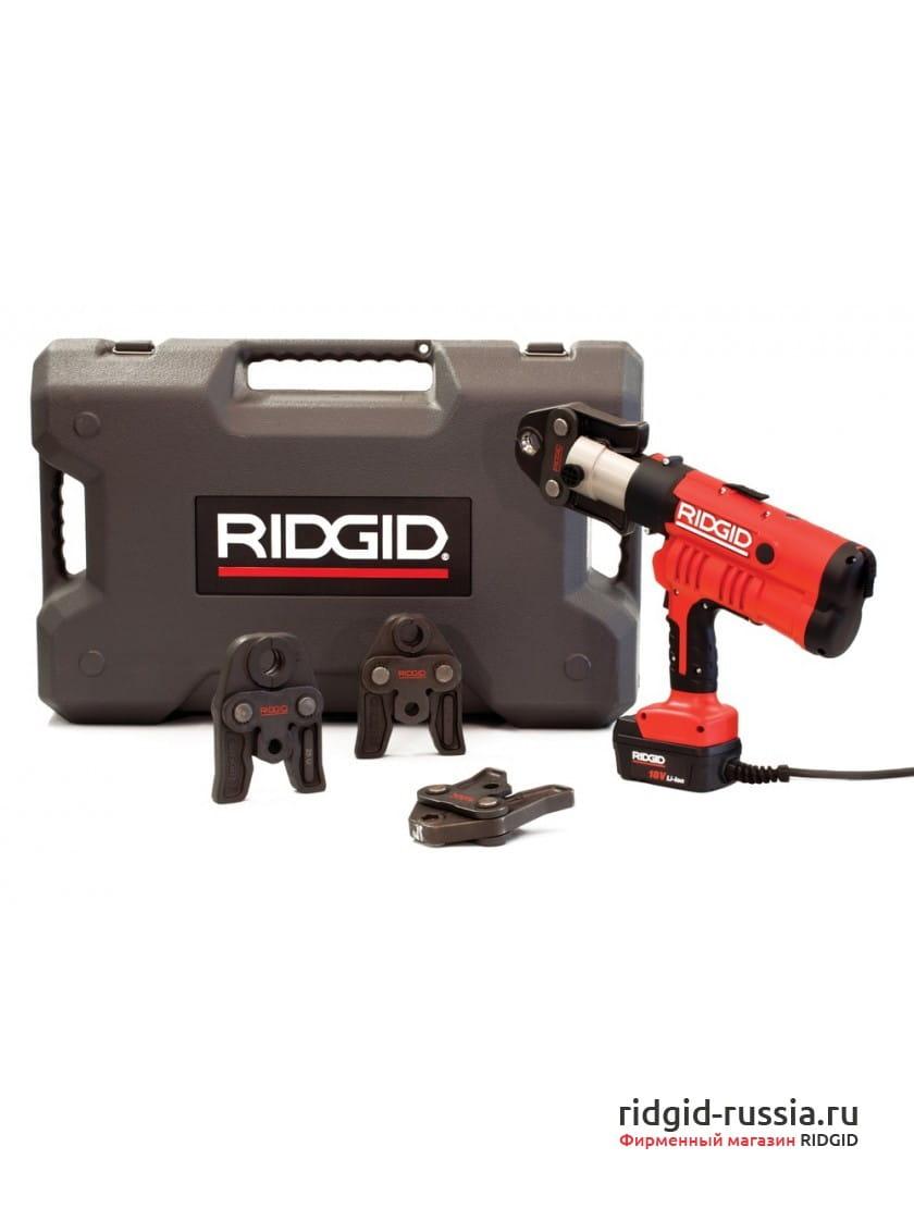 Пресс-пистолет RIDGID RP 340-C Standard  + сетевой адаптер 220 В, кейс