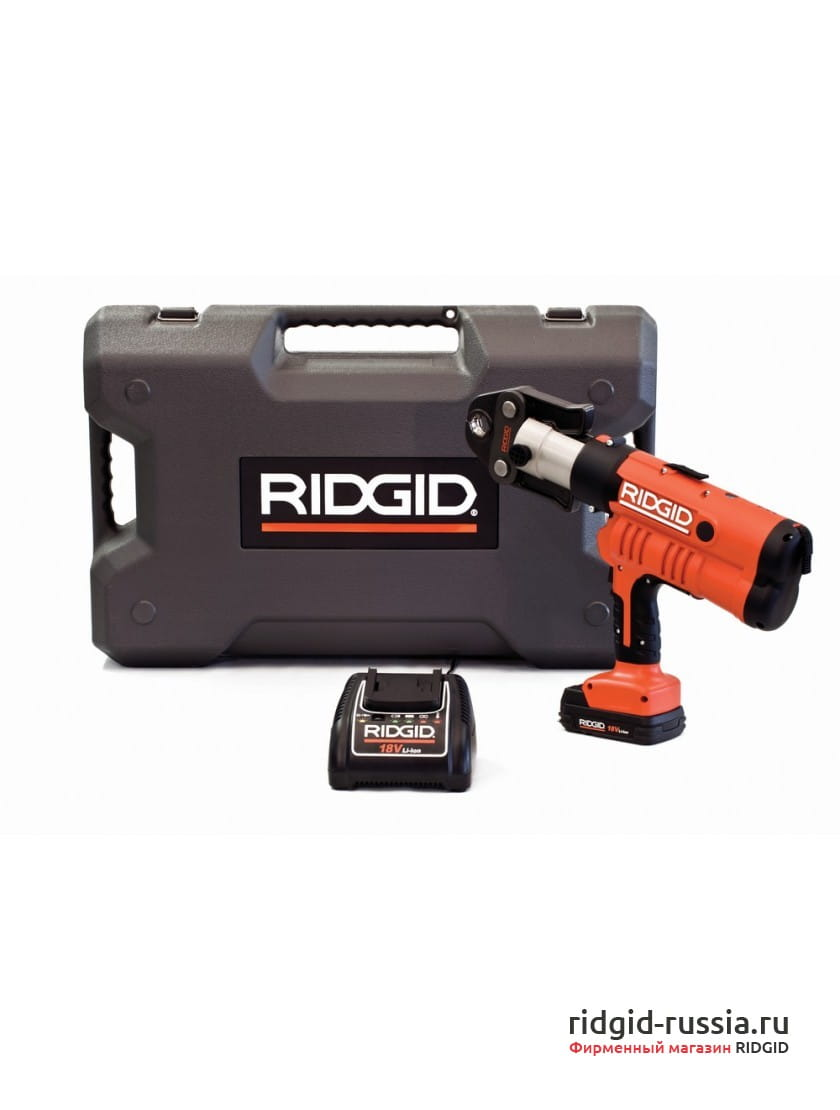 Пресс-пистолет RIDGID RP 340-B Standard + аккумулятор, зарядное устройство, кейс