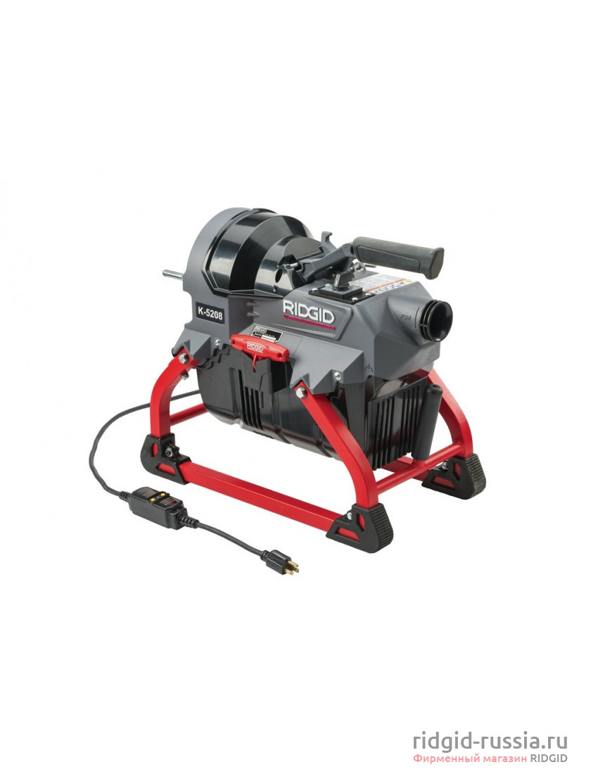 K-5208 230 В, 50/60 Гц с направляющим шлангом 64083 в фирменном магазине Ridgid